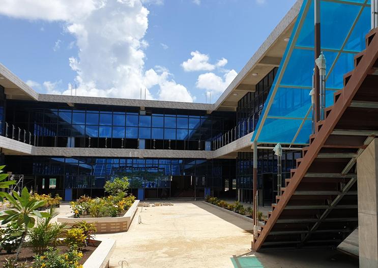 Belmopan contact center building