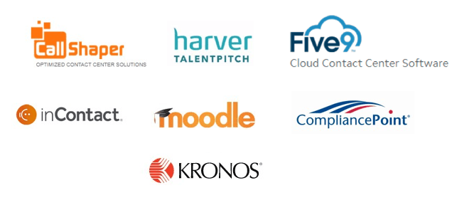 Contact center technology solution providers we partner with.