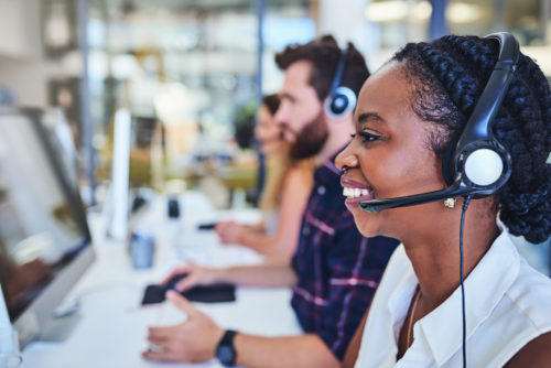 BPO contact center Inbound voice agents