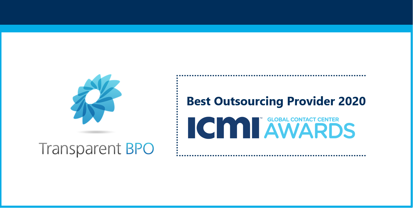 ICMI Best Outsourcing Provider